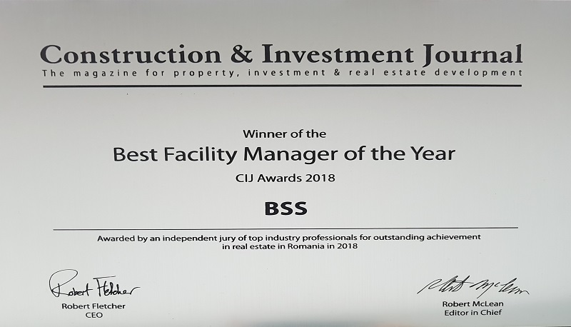Best Facility Manager of the Year